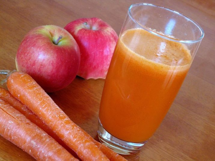 Яблочный сок из пюре