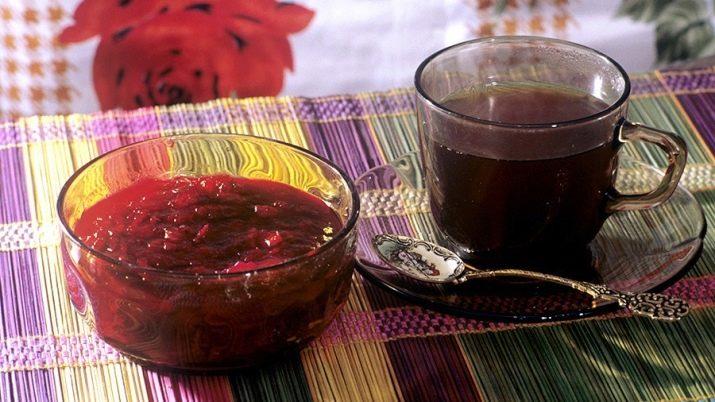 как сделать чай из замороженных ягод