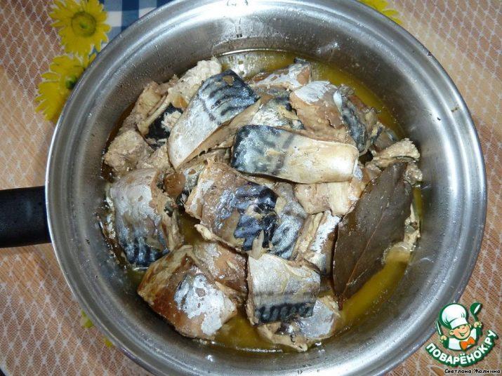Скумбрия на зиму с овощами рыбный салат