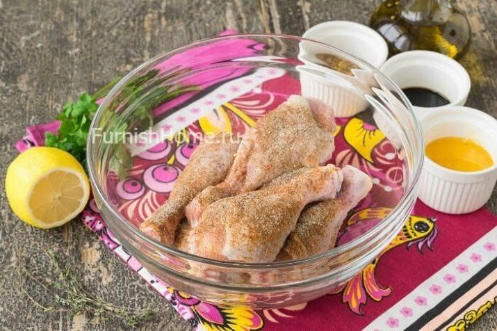 Куриные ножки в микроволновке (8 фото): рецепт голени на гриле. Сколько времени и на каком режиме готовить ножки курицы?